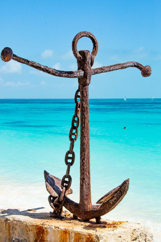 Jesus is an anchor