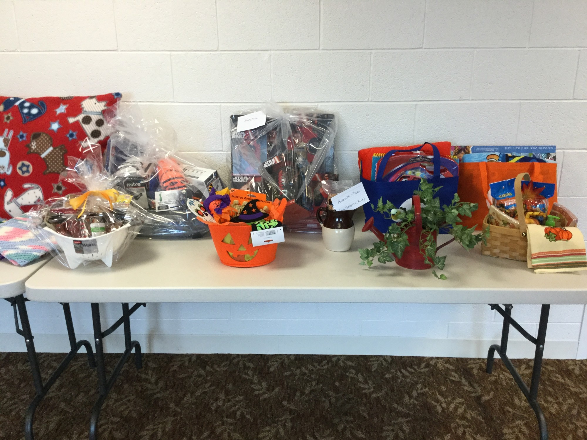 Lunch and Silent Auction