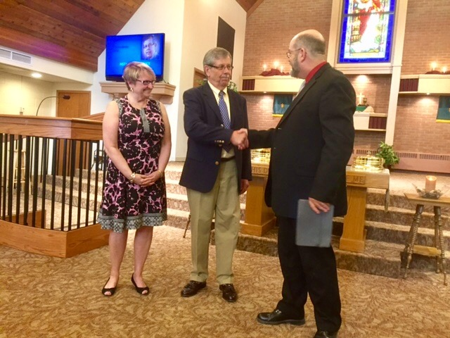 Pastor Rich Pate Installed